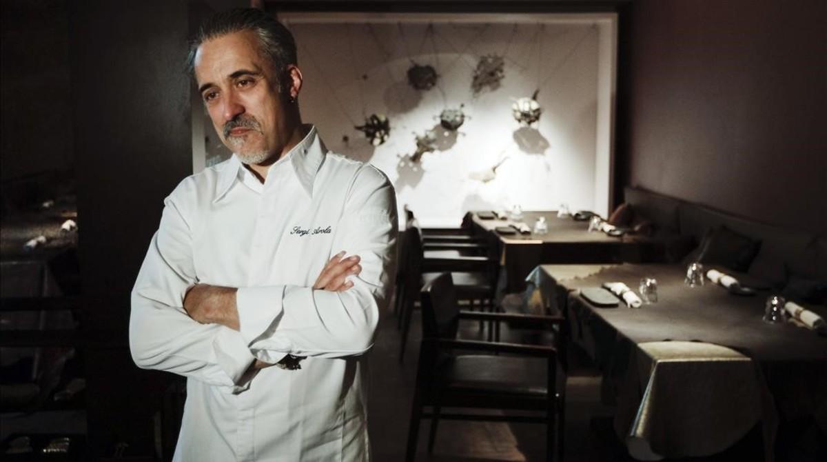 El chef Sergi Arola.