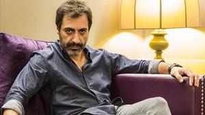 Juan del Val, en el hotel Gallery de Barcelona, este jueves.