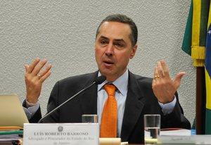 Luis Roberto Barroso,presidente del Tribunal Superior Electoral (TSE) de Brasil.