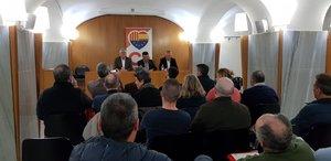 magen de la charla sobre seguridad e incivismo organizada por Cs Gavà este lunes