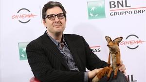 El cineastaMark Osborne, que dirige la versión animada de El principito, en Roma, el pasado octubre.