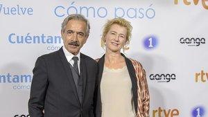 Imanol Arias y Ana Duato.