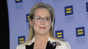 Meryl Streep durante una gala de Human Rights en Nueva York, en febrero de este año.