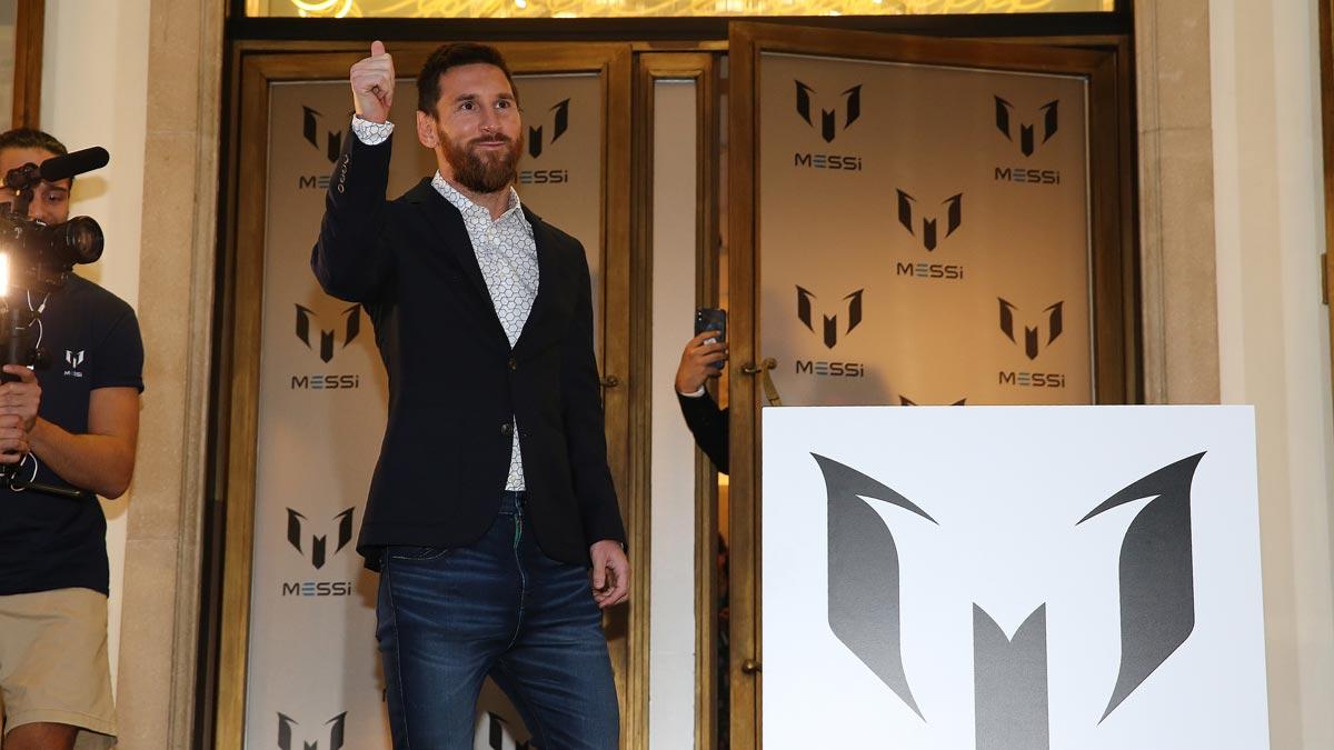 Messi lanza una colección de ropa inspirada en su vida.