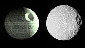 La NASA capta la imagen de la 'Estrella de la Muerte' de Saturno