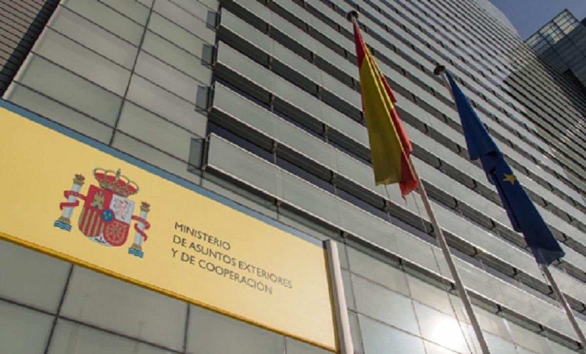 Ministerio de Asuntos Exteriores.