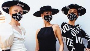 Les marques de moda hi deixen la pell per animar els EUA a votar