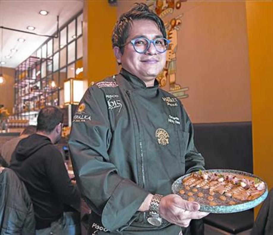 Nicky Ramos, chef de The Market Perú (Gran de Gràcia, 7).
