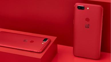OnePlus lanza el 5T en color rojo