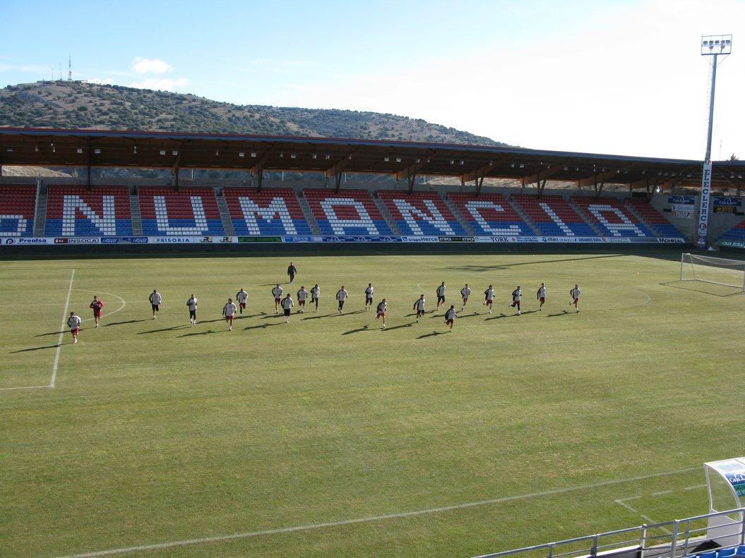 Estadio de Los Pajaritos.