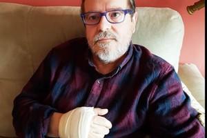 Un membre del CDR de Parets és agredit per un unionista