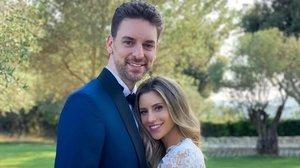 Pau Gasol y Catherine Mcdonell celebran su segunda boda en Girona.