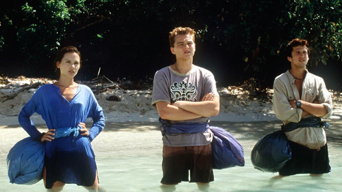 Escena de la película La Playa, protagonizada por Leonardo Di Caprio y dirigida por Danny Boyle.