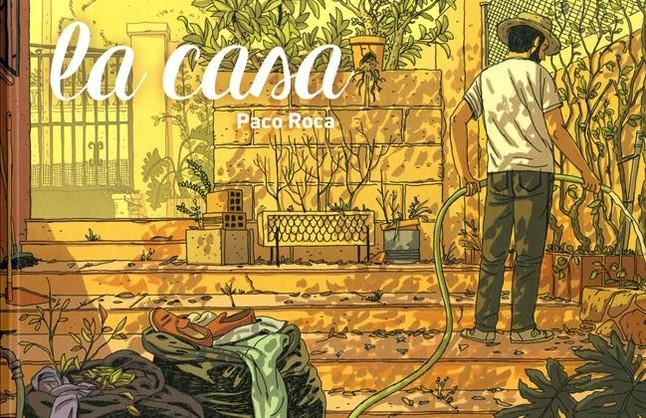 Portada de La casa, nuevo cómic de Paco Roca.