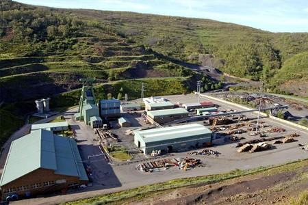 El 'Pozo Emilio', en el Valle de Llombera de Gordón (León), donde han fallecido seis mineros.