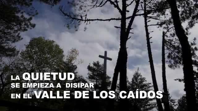 Preparativos para la exhumación de Franco en el Valle de los Caídos.