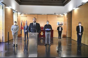 Presentación del 'Plan de reconstrucción social y económica deMataró'.