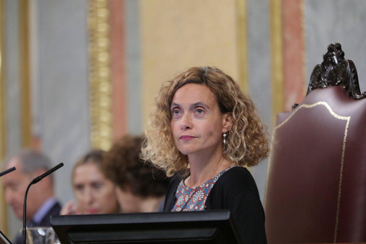 La presidenta del Congreso, Meritxell Batet.