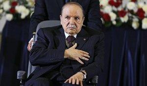 El presidente argelino, Abdelaziz Bouteflika, en una imagen del 2014.