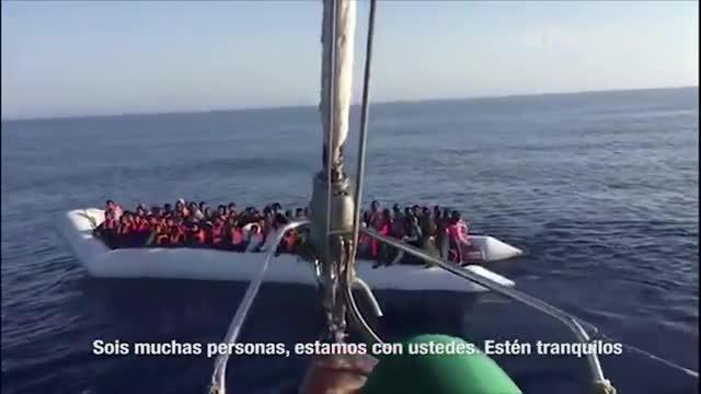 Salvados quiere llevar el documental al cine para financiar el trabajo de Proactiva en el Mediterráneo