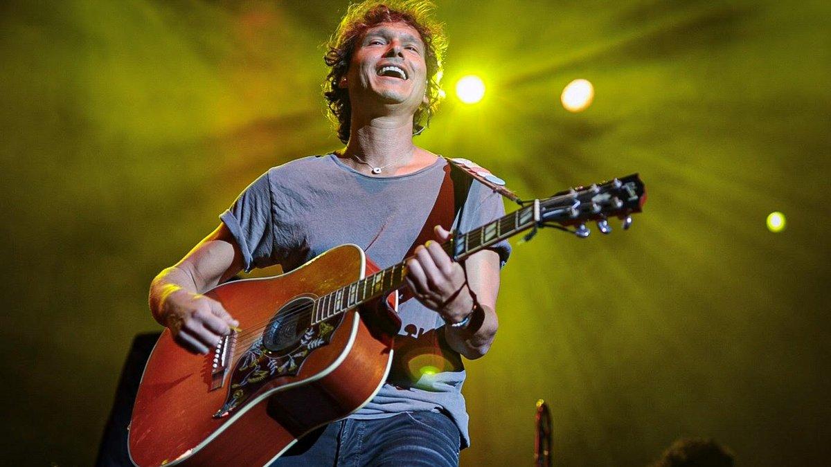 Ramon Mirabet, en su actuación en el Festival Jardins Pedralbes