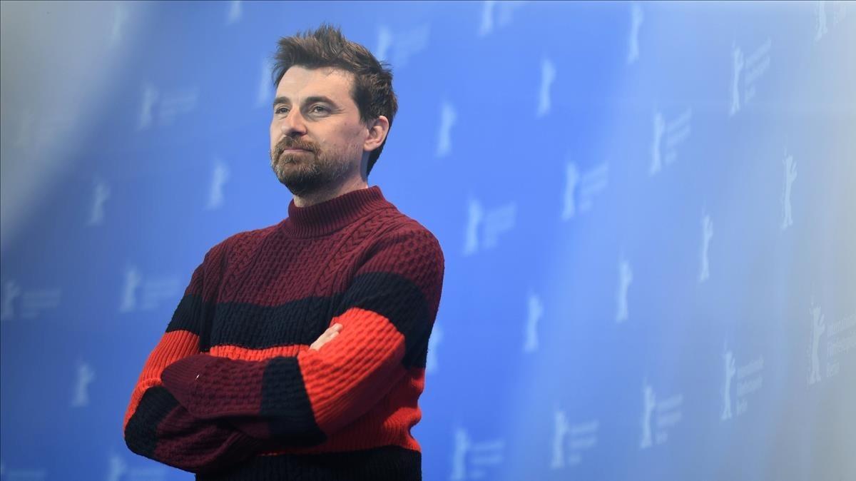 Ramón Salazar, en la presentación en Berlín de 'La enfermedad del domingo'