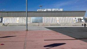 Representación del memorial del Camp de la Bota que se inaugurará el 24 de febrero.