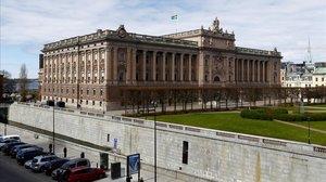 El Riksdag, el Parlamento sueco.