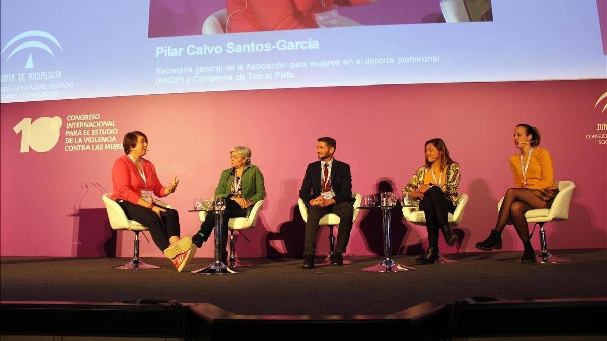 Congreso en Sevilla sobre violencia de género y deporte.