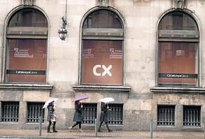 Sede de Catalunya Banc, en la Via Laietana de Barcelona.