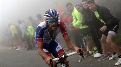 Vuelta a Espanya, 14a etapa: Pinot s'imposa als Llacs