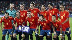 La Selección española mantuvo su noveno puesto en FIFA