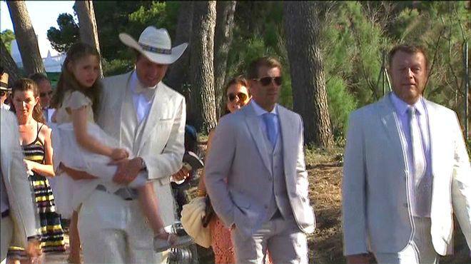 Kimbal Musk en su boda ('TN vespre', TV-3).
