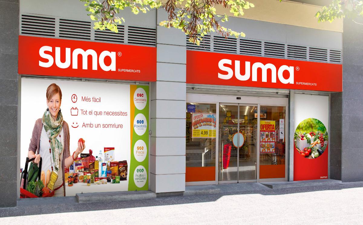 Un supermercado Suma.