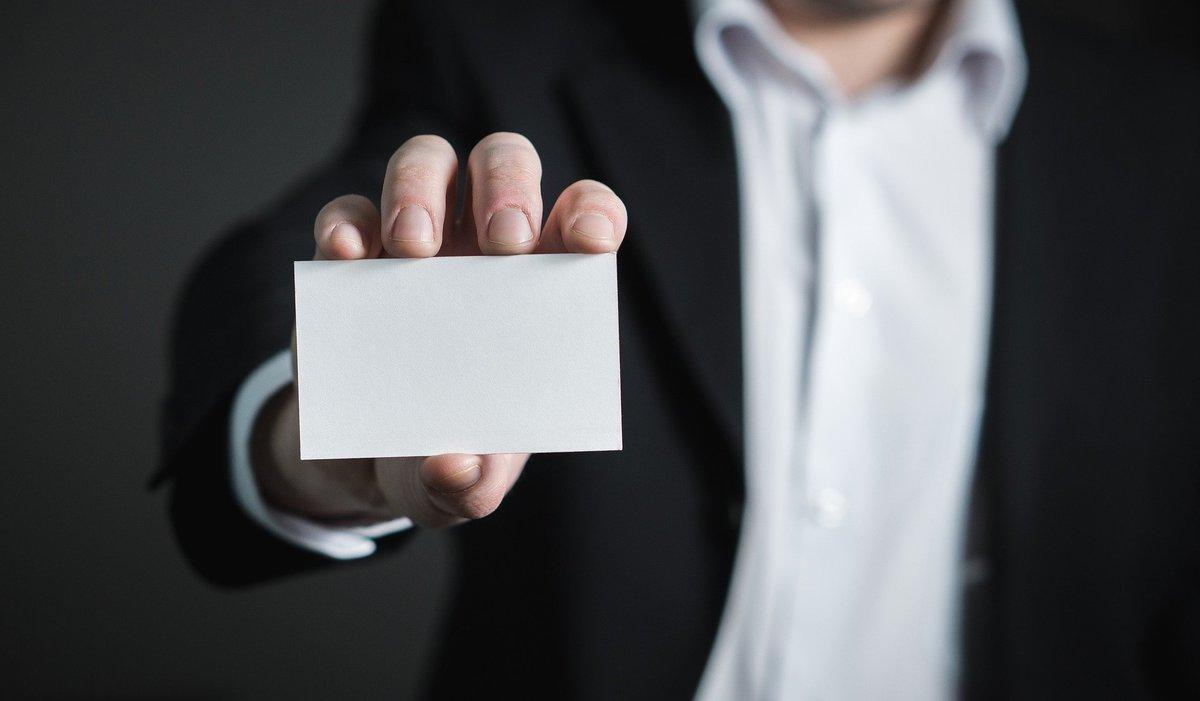 ¿Cómo debe ser mi tarjeta de visita si soy emprendedor o tengo un negocio?