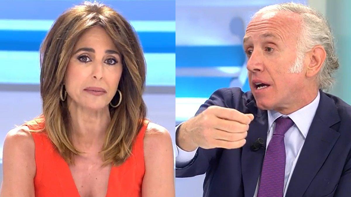 Ana Terradillos frena Eduardo Inda pel seu atac a Pablo Iglesias: «No consentiré insults»