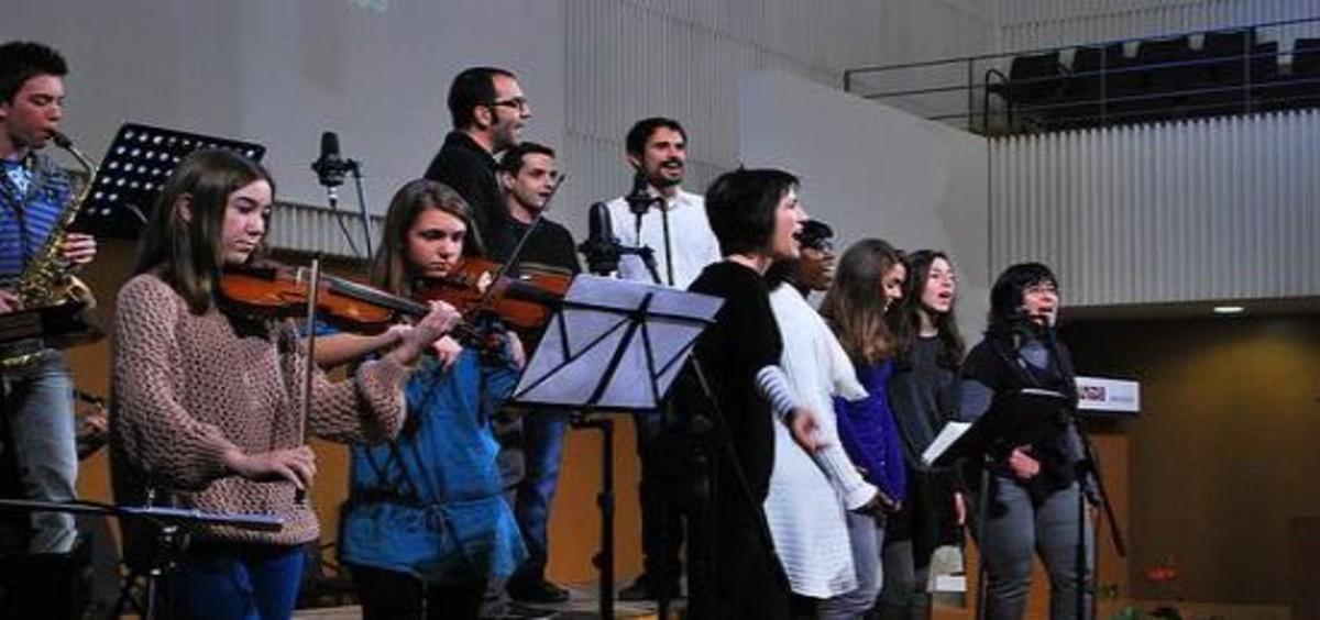 Una actuació a lEsglésiaEvangélica Unida de Terrassa.