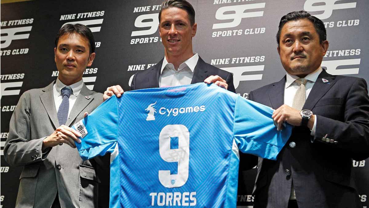 FernandoTorres confirma que jugará en el Sagan Tosu japonés.