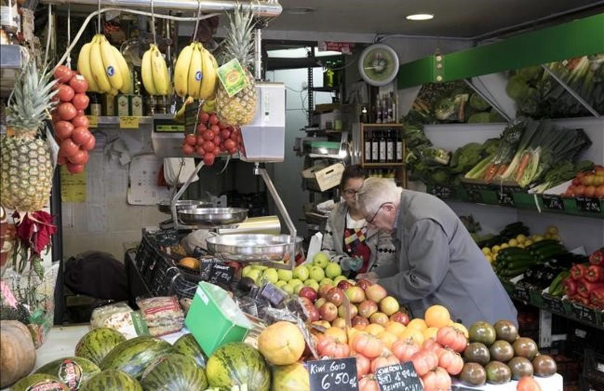 La frutería Ureña, una tienda que lleva más de 20 años en Sant Antoni.