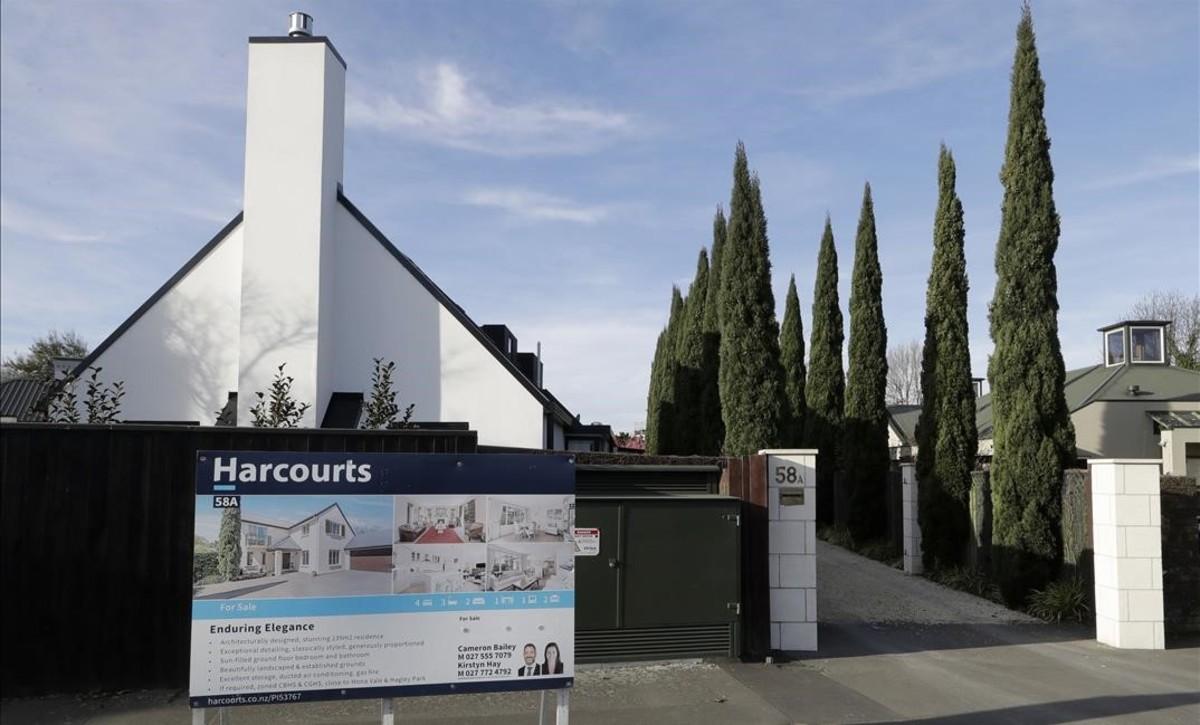 Una casa en venta en Christchurch, Nueva Zelanda.