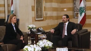 Cospedal revalida el apoyo de España con la misión de la ONU en el Líbano
