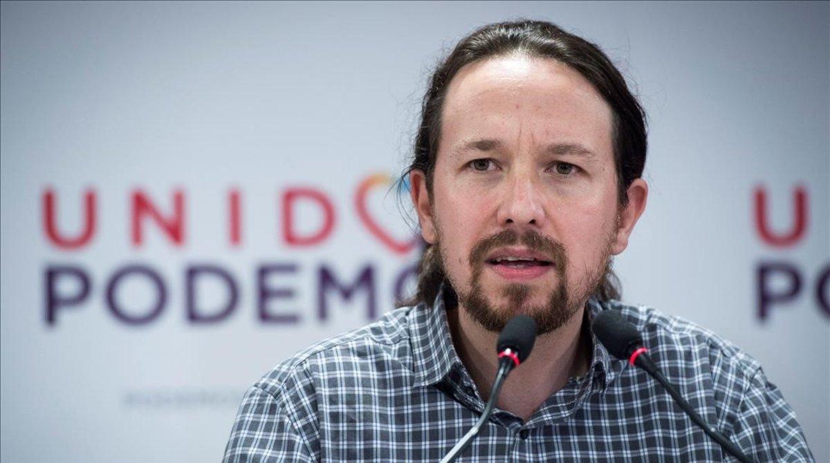 Pablo Iglesias negó haber trabajado para el gobierno de Venezuela