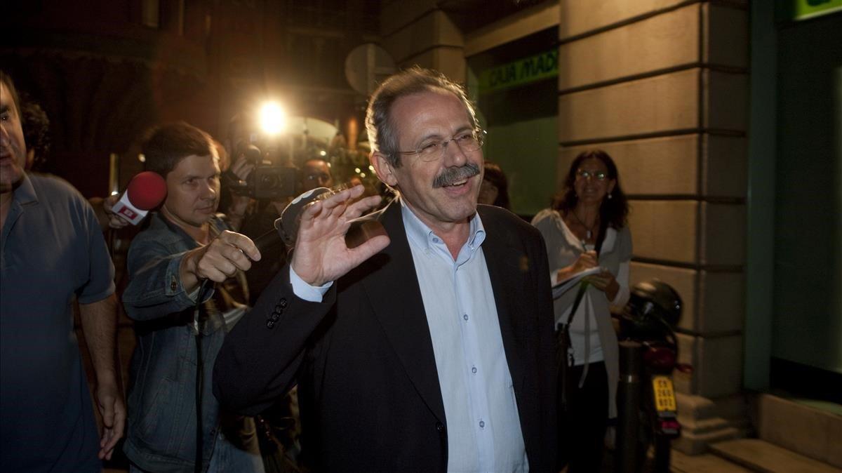 Antoni Dalmau, històric dirigent del PSC, tancarà la llista d'ERC a Igualada