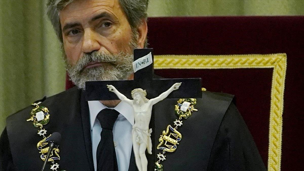 Lesmes i Picazo, Creu de Sant Jordi