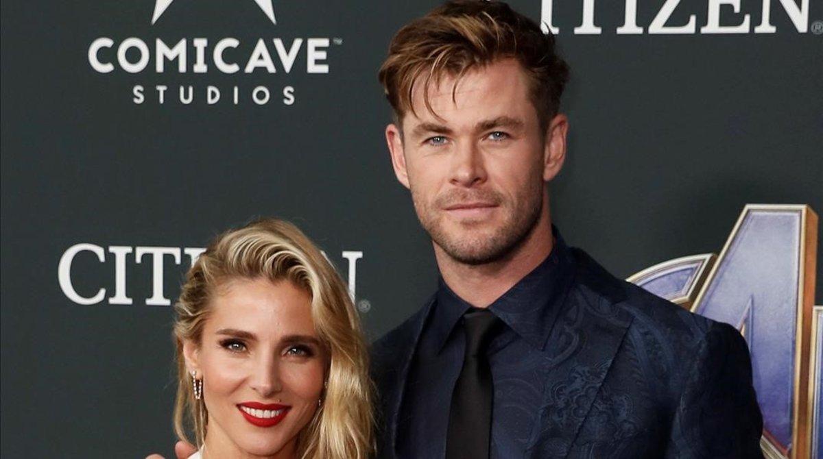 Elsa Pataky y su marido,Chris Hemsworth