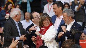 """Jaume Collboni: """"Progrés o procés aquesta és l'elecció de diumenge"""""""