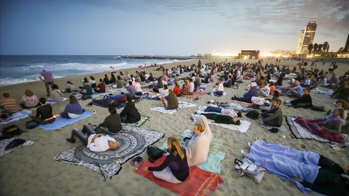 La meditación guiada más grande de Europa
