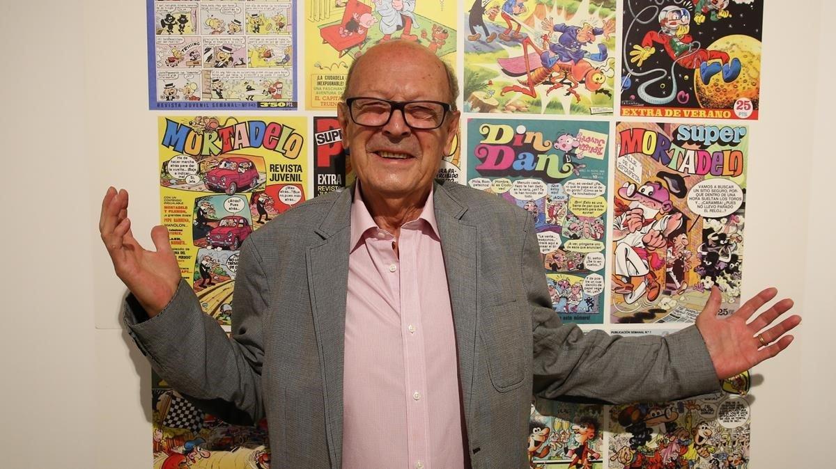 El desenraonat món d'Ibáñez arriba al Museu del Còmic
