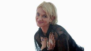 Asia Argento posa antes de recibir el Premio Méliès en el Festival de Cine Fantástico de Sitges.