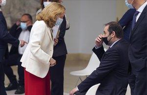 El Govern central proclama el fracàs de «l'estratègia de crispació» de Casado després de Galícia i Euskadi
